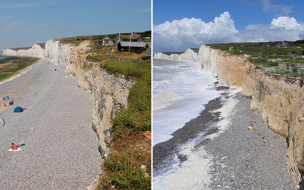 16 Powerful Before & After Photos Of Climate Change ...