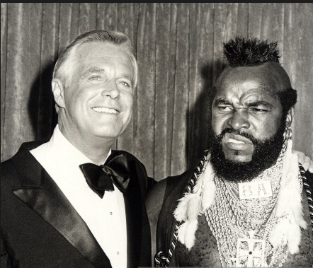 a-team - peppard and mr. t